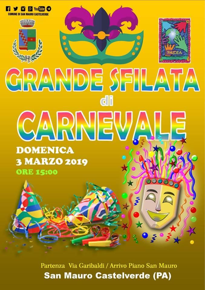 Carnevale a San Mauro, torna la sfilata dei carri