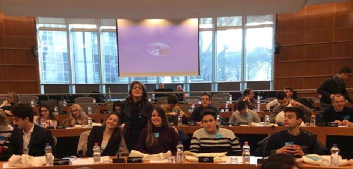 Gli alunni del Mandralisca al Parlamento Europeo