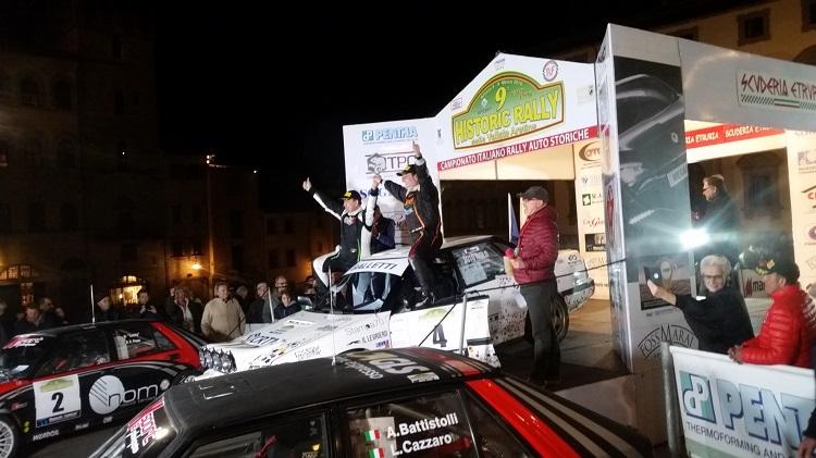 Totò Riolo vince il Rally Vallate Aretine