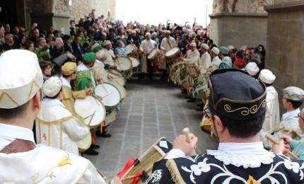 Domenica delle Palme a Gangi, tra le manifestazioni più seguite d'Italia