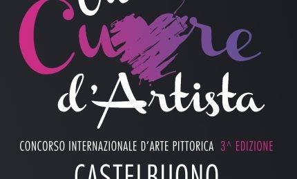"""Castelbuono, concorso """"Cuore d'artista"""" giunge alle terza edizione"""