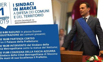 Ex province continua la protesta di De Luca