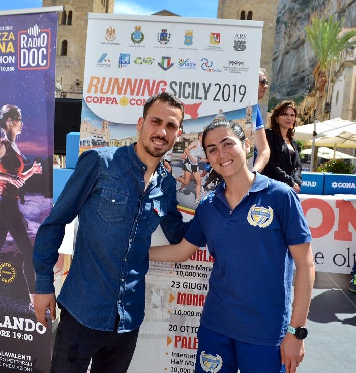 Ad Agnello e Di Carlo la prima uscita del Running Sicily