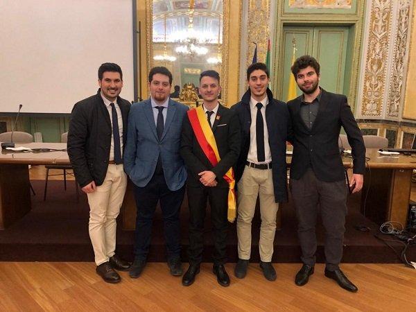 Giuseppe Coco nominato assessore dell'assemblea delle Consulte giovanili siciliane