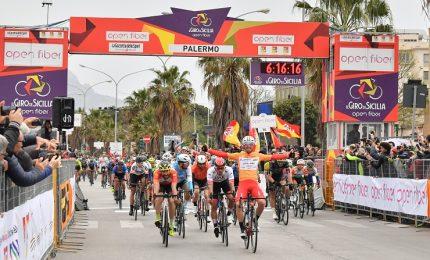 E' Manuel Belletti il leader del Giro di Sicilia