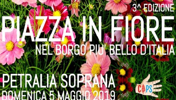 A Petralia Soprana la piazza è in fiore
