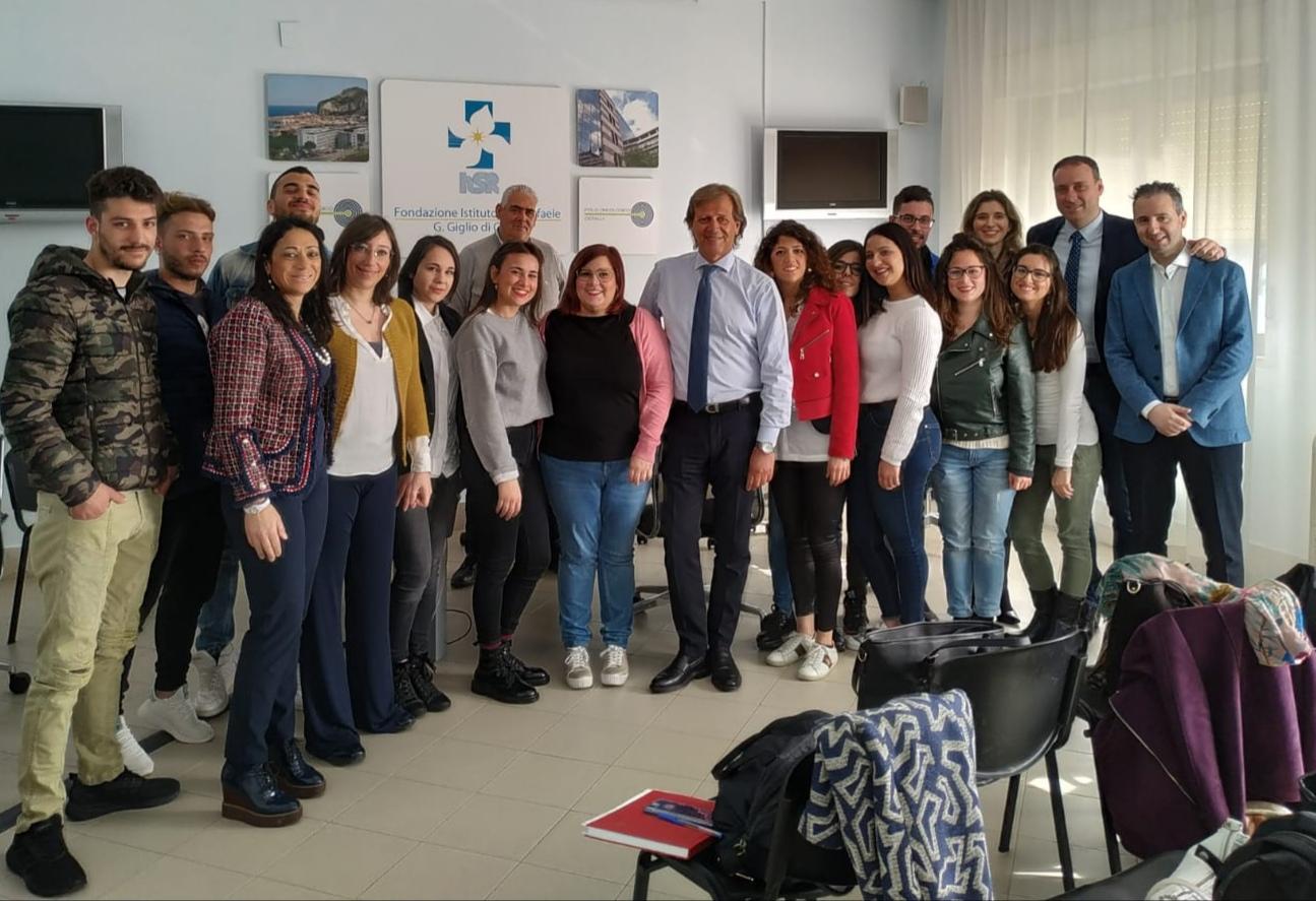 Cefalù, nove giovani impegnati nel Servizio Civile all'Ospedale Giglio