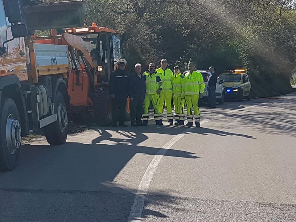 Polizzi, arrivata denuncia per i lavori gratuiti della strada franata