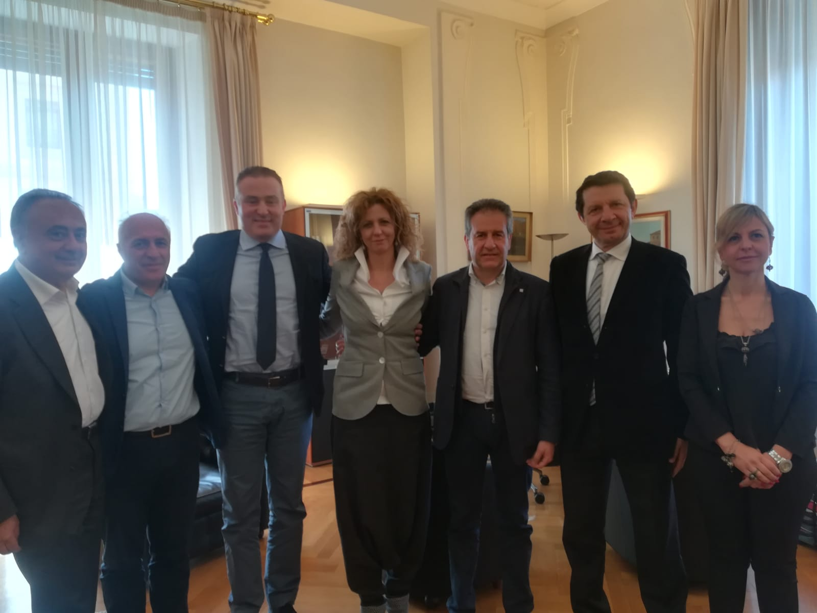 Aree Interne, Pietro Macaluso incontra il ministro Lezzi