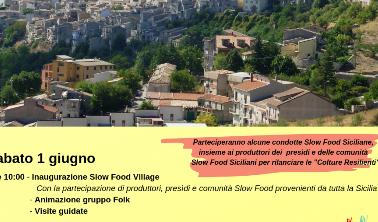 Petralia Soprana, tutto pronto per lo Slow Food Day