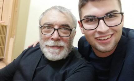 Attore cefaludese in duetto con Nino Frassica