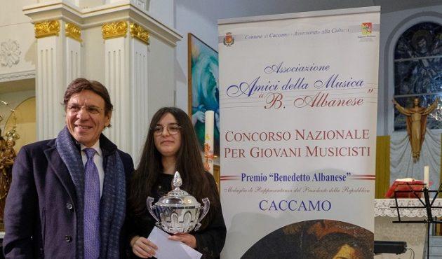 Alla Arcuri il concorso musicale Benedetto Albanese
