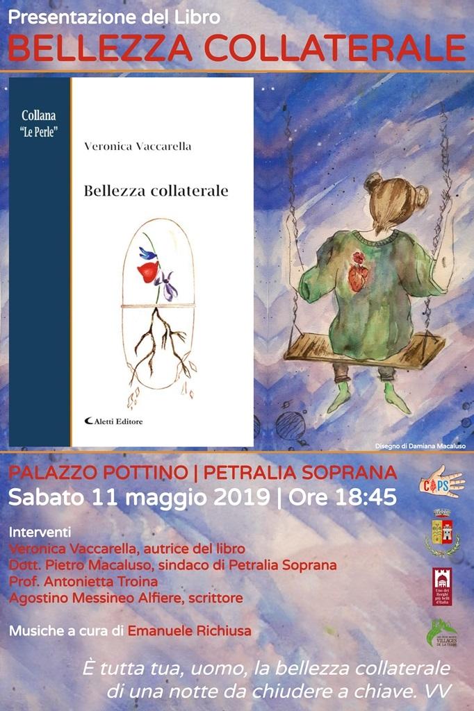 """Petralia Soprana si presenta il libro """" Bellezza Collaterale """""""