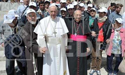 Cefalù, i poveri di Gibilmanna insieme a Papa Francesco