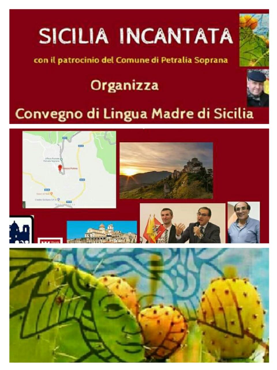"""Parte da Petralia Soprana il tour di """"Lingua madre di Sicilia"""""""