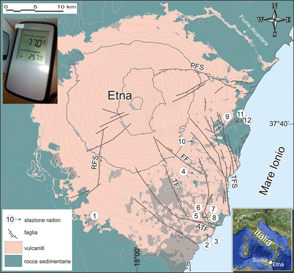 Sull'Etna il radon è un nuovo pericolo