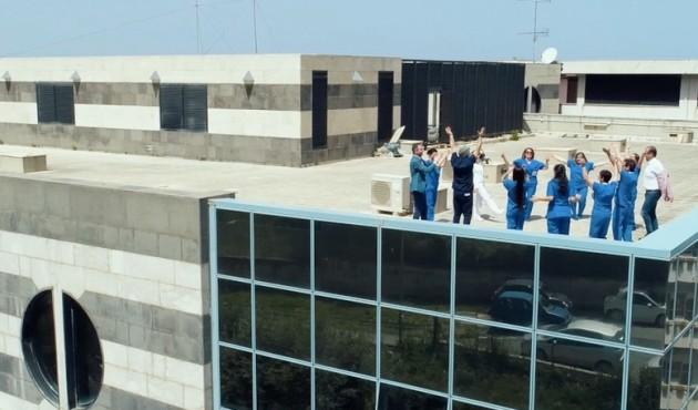 Ospedale Giglio, medici e infermieri protagonisti di un video promo contro batteri e infezioni