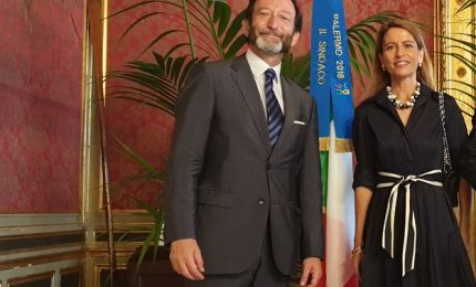 Viktor Elbling, ambasciatore tedesco in Italia, ha visitato Cefalù
