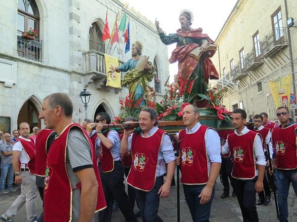 Si festeggiano i patroni nel Borgo più bello d'Italia
