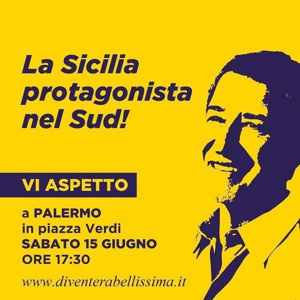 Diventerà Bellissima chiama i siciliani in piazza