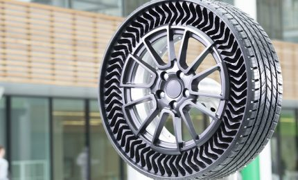 Michelin e Gm presentano lo pneumatico senza aria