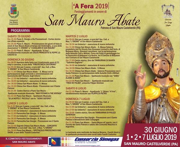 A San Mauro si festeggia il patrono (leggi il programma degli eventi)