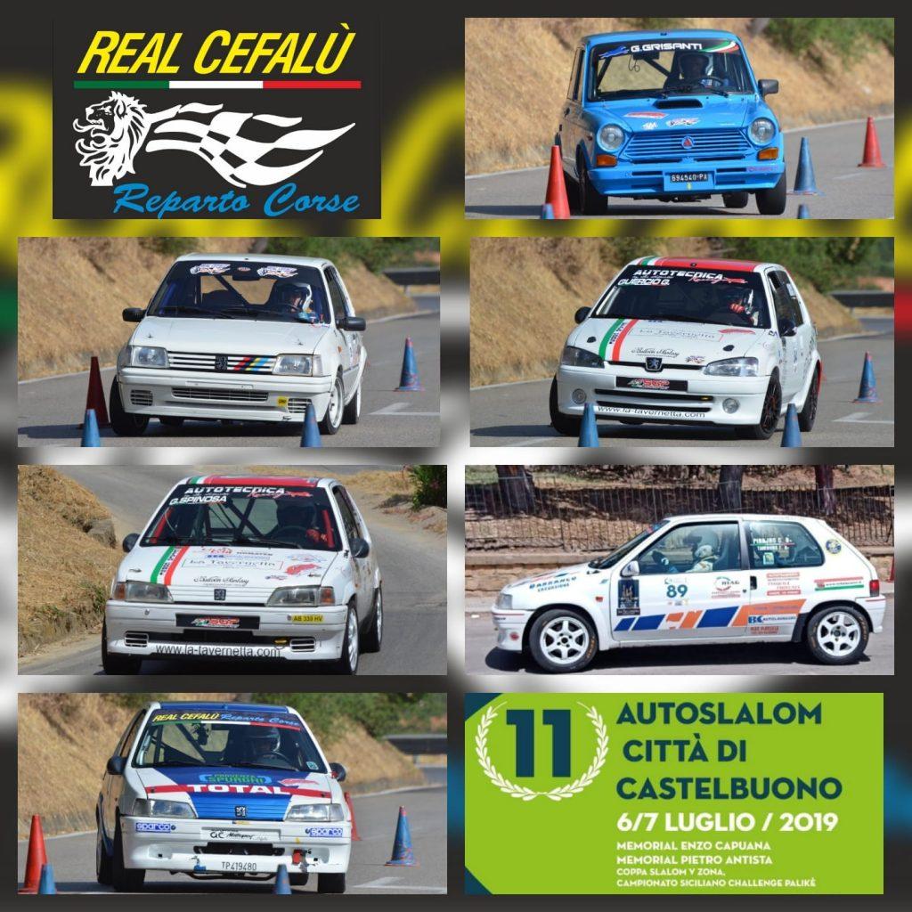L'11^ Autoslalom di Castelbuono sorride al Real Cefalù Reparto Corse