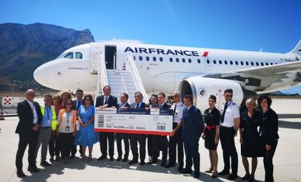 Air France torna a fare scalo a Palermo
