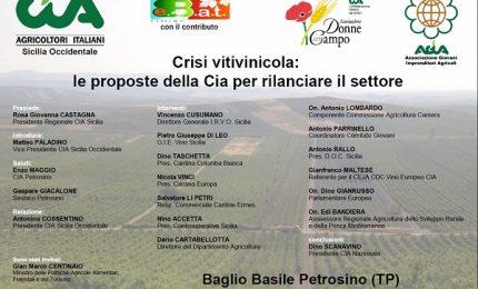 Crisi del vino siciliano, in programma un confronto con Ministero e Regione