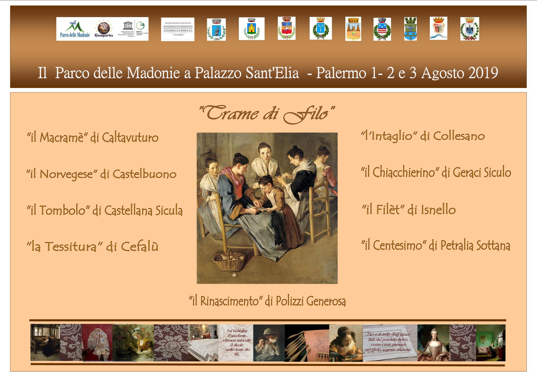 Ricami e merletti delle Madonie in mostra a Palermo