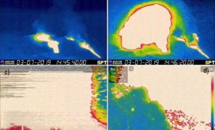 Allerta a Stromboli per una sequenza esplosiva, morto un escursionista