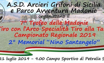 A Petralia Sottana fa tappa il Campionato regionale di tiro con l'arco