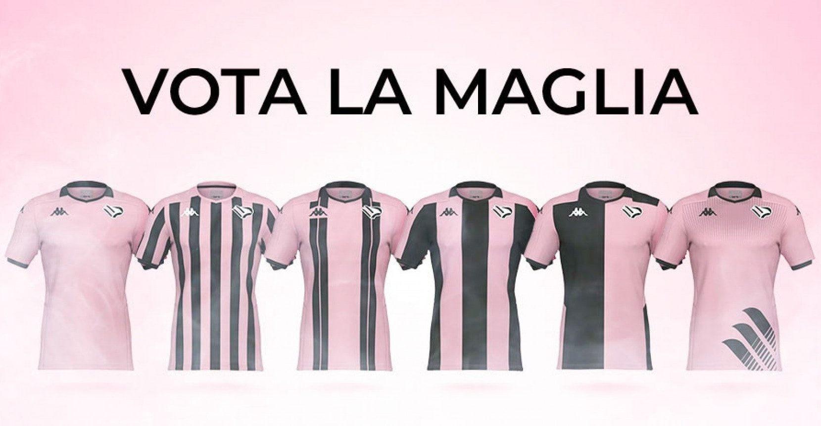 I tifosi sceglieranno la nuova maglia del Palermo