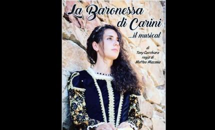 """""""La baronessa di Carini"""", a San Mauro in scena il musical"""