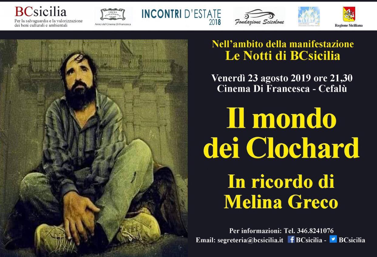 """Cefalù, Cinema di Francesca: """"Il mondo dei clochard"""" nei cortometraggi di Li Volsi e Matacchiera"""