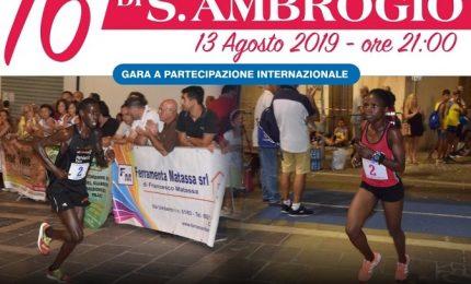 A Sant'Ambrogio domani si sfidano i nomi internazionali del podismo