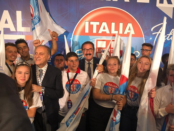 Terrana invita la gente a partecipare alla Festa dell'Udc Italia