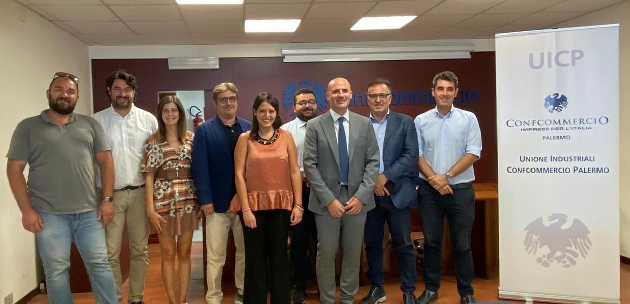 Nasce l'Unione Industriali Confcommercio Palermo. Presidente Antonio Lo Coco
