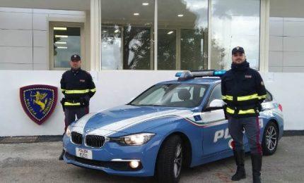 Gli agenti della stradale arrestano un corriere della droga a Buonfornello
