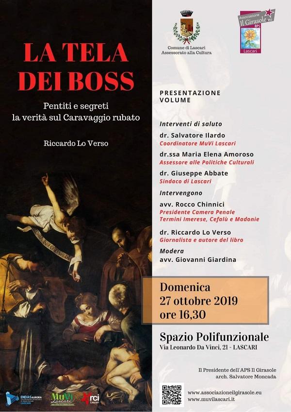 """Verrà presentato a Lascari il libro """"La tela dei boss"""""""