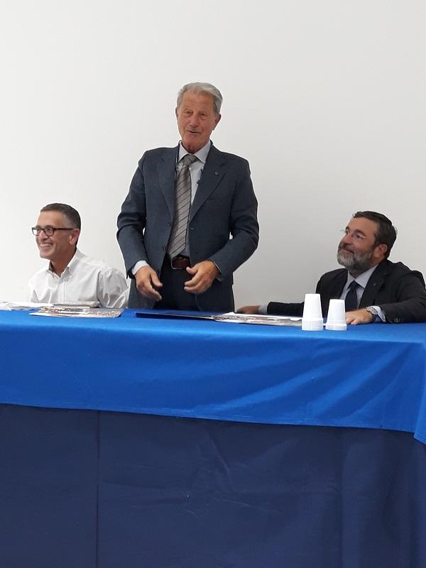Mauro Pregliasco in Sicilia a presentare il suo libro