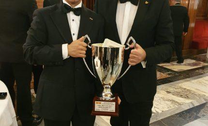 Antonio Giallombardo dell'A.M.I.R.A Cefalù-Madonie è il 2° Maitre d'Italia 2019
