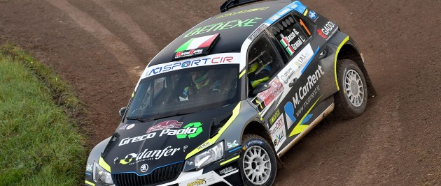 Giandomenico Basso e Lorenzo Granai su Skoda Fabia R5 vincono il Campionato Italiano Rally 2019