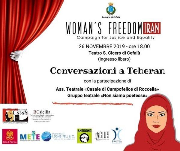 """Il teatro Cicero ospita: """"Conversazioni a Teheran"""""""
