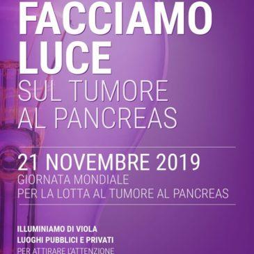 """Petralia Soprana aderisce all'iniziativa """"Facciamo luce sul tumore al pancreas"""""""