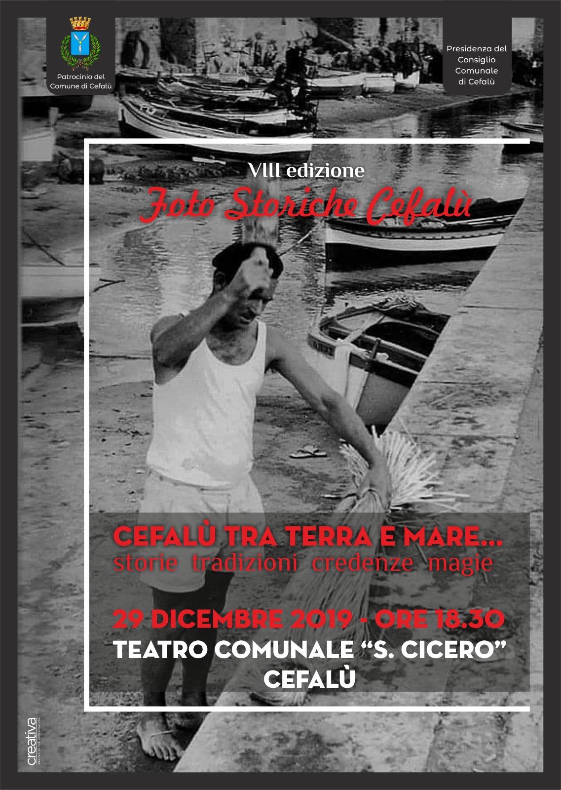 Foto storiche Cefalù, ottava edizione in programma nel fine settimana