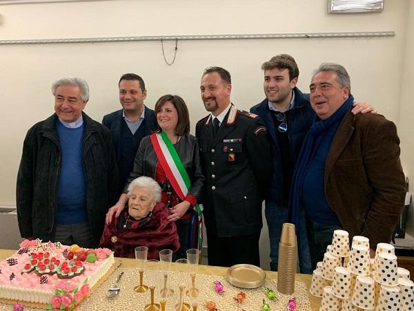 Campofelice di Roccella ha una nuova centenaria