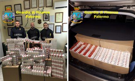 Termini Imerese: sequestrate 100 kg di sigarette di contrabbando