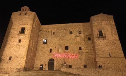 A Castelbuono una installazione luminosa sulla facciata del Castello dei Ventimiglia