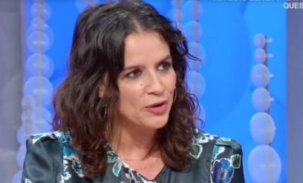 L'attrice Irene Ferri litiga con l'edicolante e finisce in ospedale